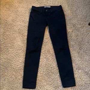 J Brand black jeggins